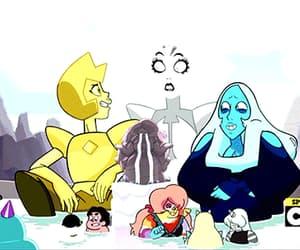 cartoon, gif, and yellow diamond image