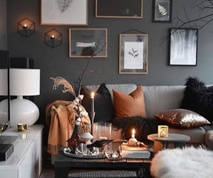 black, house, and living room image