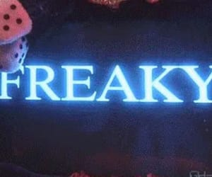 blue and freaky image