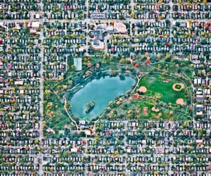 aerial photography, city, and minneapolis image