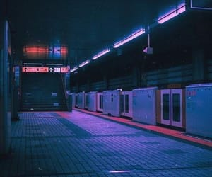 80s, aesthetic, and neon image