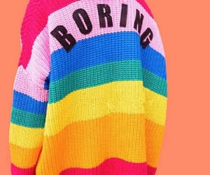 boring, colourful, and outfit image