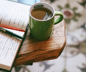 books, قهوة, and coffee image