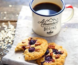 biscuits, coffee, and mugs image