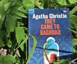 agatha christie, book, and books image
