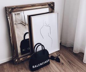 art, interior, and Balenciaga image