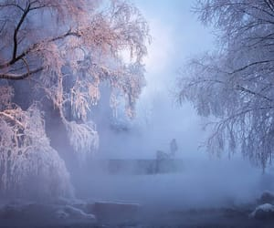 nature, russia, and winter image