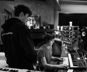 b&w, shawn, and singer image