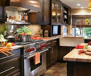decor, home decor, and kitchen image
