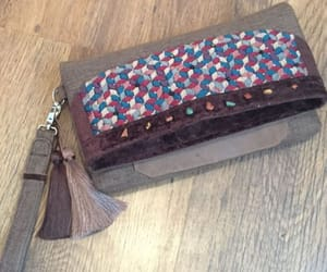 bag, handmade, and purse image