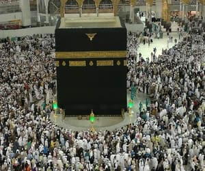 hajj, kaaba, and umrah image
