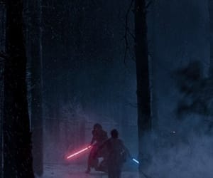 battle, star wars, and kylo ren image