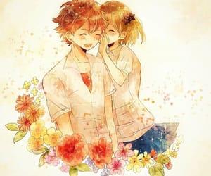 anime, anime girl, and love image