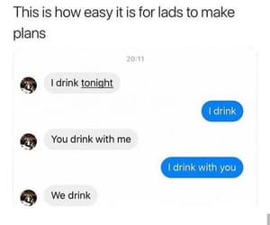 alcohol, drinking, and drunk image