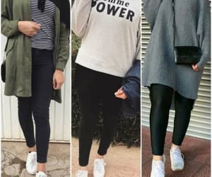 hoodies, sneakers, and casual hijab image