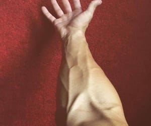 boy, arm, and veins image