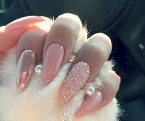 nails, pink, and porsche image