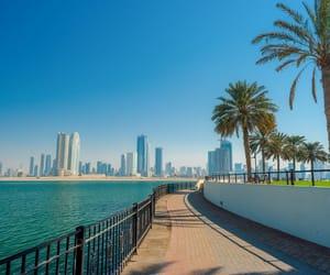beach, city, and Dubai image
