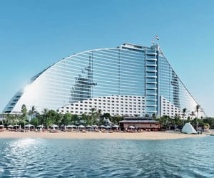 beach, hotel, and relax image