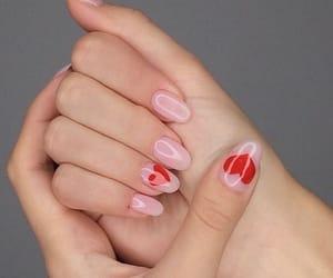 art, heart, and nail image