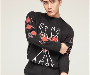 china, jackson, and k-pop image