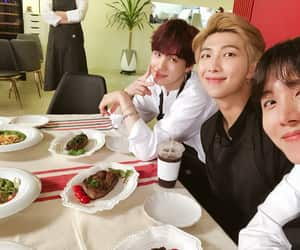 rm, bts, and jhope image
