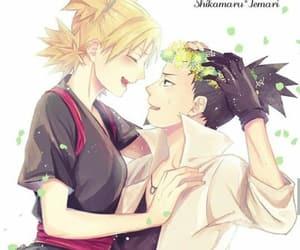 temari, shikamaru, and anime image