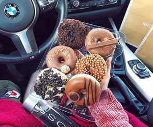 bmw, car, and chocolate image