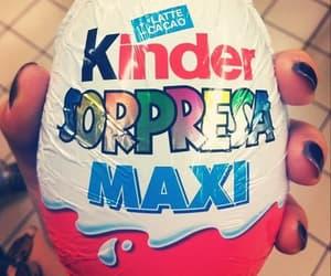 chocolate, suprise, and kinder image