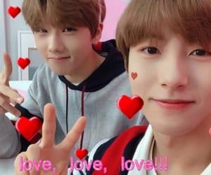 jisung, renjun, and lovecore image