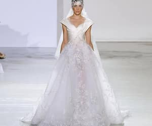 bridal gown, Couture, and dress image