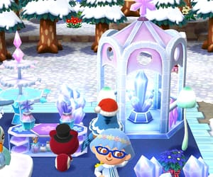 animal crossing, fantasy, and winter image