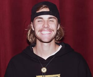 justin bieber, happy, and cute image
