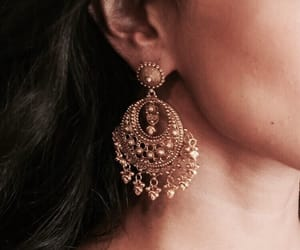 accessories, girl, and earring image