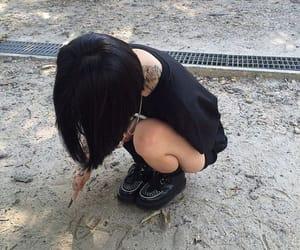 alternative, grunge, and black image