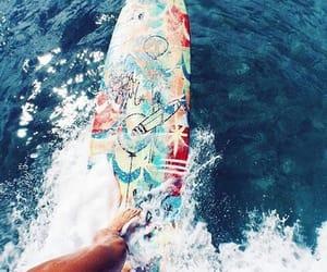 beach, summer, and verão image