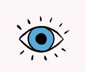 eye, wallpaper, and blue image