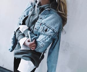 fashion, ootd, and denim image