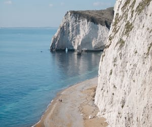alone, cliffs, and europe image
