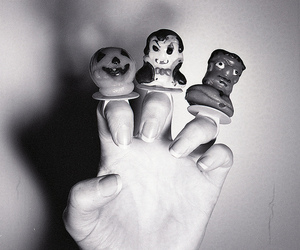 all hallows eve, analog, and black and white image