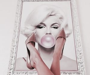 bubble gum, pink, and girly image