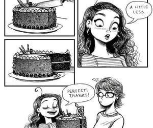 funny, cake, and lol image