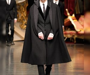 cape, catwalk, and Dolce & Gabbana image