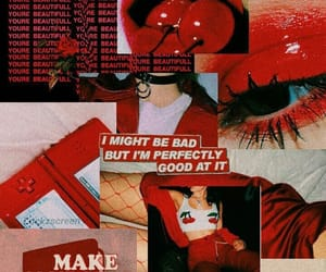 red, wallpaper, and aesthetic image