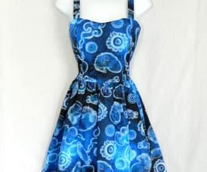 blue, cute dress, and marine image