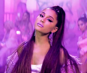 brunette, gif, and 7 rings image