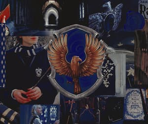 ravenclaw, corvinal, and harry potter headers image