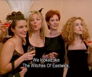 sex and the city, 90s, and Carrie Bradshaw image