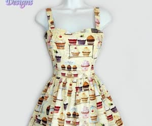 bakery, dress design, and pinup dress image