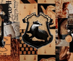 hufflepuff, lufalufa, and harry potter headers image